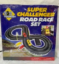 "Excite Super Challeneger Road Race Slot Car  set New Sealed in 17"" Box"