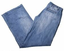 LIU JO Womens Jeans W26 L34 Blue Cotton Straight  EL08