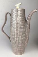 Vtg Red Wing 1953 Anniversary Pink Spice Lavender Basket Weave Beverage Server