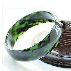 JADE Jadeite Bracelet Bangle Gorgeous Myanmar Natural Green HQ UK