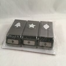 Merry Minis Punch Pack by Stampin Up New Christmas Tree Ornament Star 126882