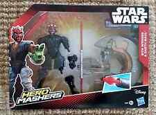 Hasbro – B3832 – Hero Mashers – Star Wars – Sith Speeder & Darth Maul – Figurine