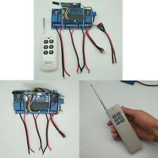 380 550 775 Dual Motors Remote Controller & Receiver for RC Boat Bait Tug Model