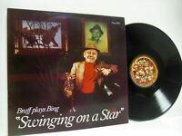 RUBY BRAFF braff plays being volume 1 LP EX/VG, PIZZA 5501, vinyl, album, swing,