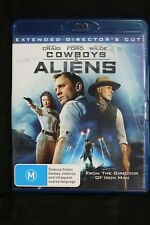 Cowboys & Aliens: (Extended Director's Cut) Blu-ray RB -  Pre-owned - (D500)