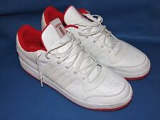 Adidas Size 17 Game Worn White W/ 3 White Stripes