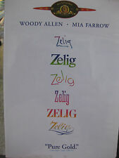 ZELIG  DVD WOODY ALLEN MIA FARROW