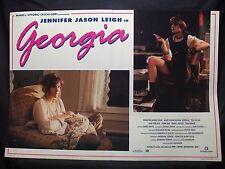 FOTOBUSTA CINEMA - GEORGIA - JENNIFER JASON LEIGH - 1995 - COMMEDIA - 01