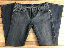 """7 for All Mankind Distressed Bootcut Size 32 EUC  Inseam-32"""" *Worn Once"""