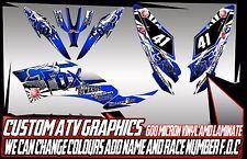 Yamaha Raptor 250/350/660/700 calcomanías de gráficos