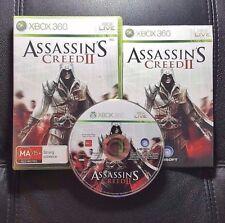 Assassins Creed II 2 (Microsoft Xbox 360, 2009) Xbox 360 Game - FREE POST