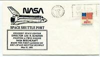 1976 Space Shuttle Port Kennedy Space Center Scherer First Landing KSC NASA USA