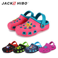Boys Girls Cute Garden Shoes Kids Cartoon Slides Sandals Clogs Beach Slippers