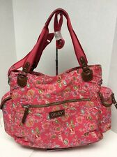 Oilily -Designer Babybag, color Raspberry with diaper changing mat,one of a kind