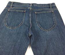 Gap Low Rise Capri Stretch Denim Blue Jeans Medium Wash Women's 6 Regular