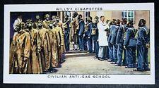 British Workers Anti-Gas School    1930's Vintage Card # VGC