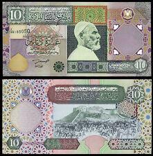LIBIA 10 Dinari (P66) N. D. (2002) UNC