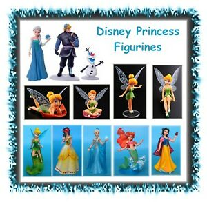 Disney Princess Princesses figures figurines - cake topper toy doll Tinkerbell