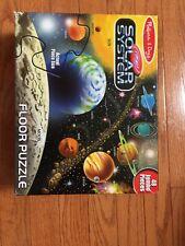 Melissa & Doug Solar System 48 Pcs Floor Puzzle - Used