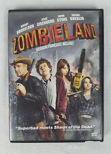 Zombieland (DVD, 2009) Bilingual French - Ex-Blockbuster Video Rental Copy