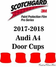 3M Scotchgard Paint Protection Film Pro Series Clear Bra 2017 2018 Audi A4 Base