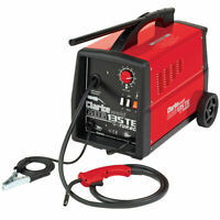 Clarke 135TE Turbo Mig Welder 130AMP 5mm Steel Weld 390g Gas Included PACKAGE