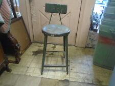MACHINIST LATHE MILL Machinist Steam Punk Industrial Stool Chair
