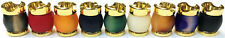 Eclipse Novelty Fancy Gold Rim Cigarette Snuffers, 4ct, Assorted Colors