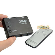 3Port HDMI 1.4 Auto Car Switch 3 in 1 out Switcher 4k ×2k 3D Amp Remote Control