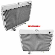 1968-1970 Mercury Cougar / XR7 3 Row CHAMPION Aluminum Radiator