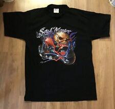 "Motorcycle Motorbike Biker Chopper Custom Tshirt Size M Medium 39"" Soul Master"