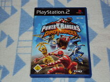 Power rangers: Dino Thunder (Sony Playstation 2, 2004, DVD-BOX)
