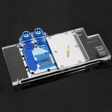 Barrow RGB VGA GPU Water Cooling Block For ASUS ROG STRIX RX580 RX480