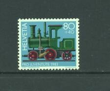 Switzerland 1983 SG  J 286  Railway  Steam Locomotive  MNH