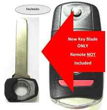 35111-SEP-307 Uncut flip key blade keyless remote transponder keyfob entry fob