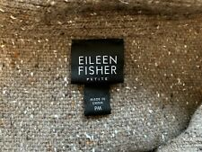 New listing Eileen Fisher Lambswool-Nylon-Angora-Si lk Warm Sweater/Coat Pm Petite Medium