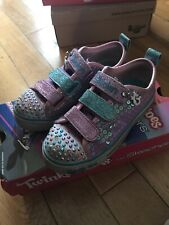 Sketchers Twinkle Toes Girls Size 10.5