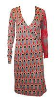 DESIGUAL schönes  Kleid in Gr. S=DE 34 in grau-rot-schwarz