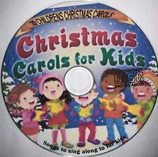 Christmas Carols + Songs on CD Children's Christmas Sing Along  20 Xmas kids