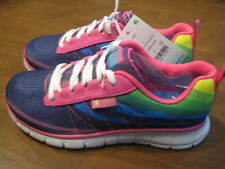 S SPORT BY SKECHERS Athletic Sneakers Shoes Unbroken Rainbow Girl's Size 2 BOX