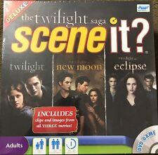 NEW! Scene It? Deluxe Edition Twilight Saga DVD Game *All 3 Movies* Gift Idea