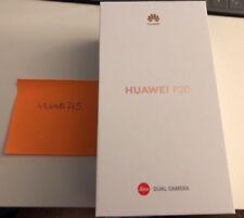 Smartphone Huawei P20- Dualsim- 128 Go- Noir-Neuf (sous blister)- Desimlocké