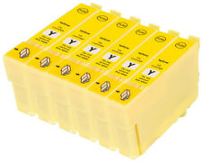 6 compatibile E714 giallo Cartuccia stampante a getto d'inchiostro per T0714 TO714 T0894 TO894