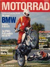 M8017 + Fahrbericht BMW R 80 G/S + Test HARLEY-D. Wide Glide + MOTORRAD 17 1980