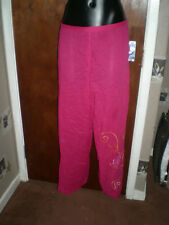 Pink  Fenty  Rihanna style Popper slitside Pants Bottoms Snaps Side Buttons M