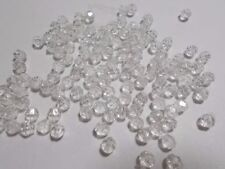 Acrylic Faceted Round Jewellery Making Craft Beads