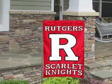 Rutgers University Banner House Flag Scarlet Knights