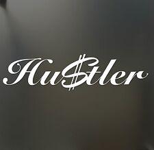 Hustler Sticker Money Funny $ fresh hip hop JDM Drift dollar lowered car window