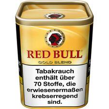 8 x 120g Red Bull Gold Blend Tabak Dose