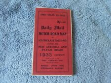 1933 Daily Mail Road Map - London and South East England.